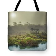 The Horton Plains. Sunrise Tote Bag