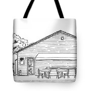 The Hot Dog Factory Tote Bag