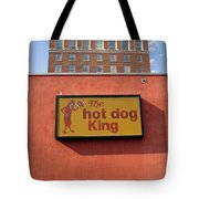 The Hot Dog King Tote Bag