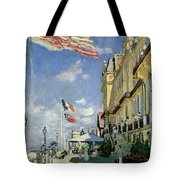 The Hotel Des Roches Noires At Trouville Tote Bag