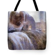 The Hotel Room By Mary Bassett Tote Bag