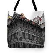 The House At The Minute Tote Bag