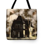 The House From Psycho Tote Bag