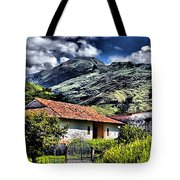 The House In The Valley Tote Bag
