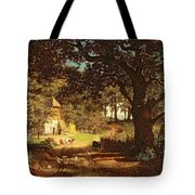 The House In The Woods Tote Bag by Albert Bierstadt