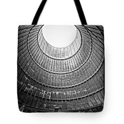 The House Inside The Cooling Tower - Abandoned Factory Tote Bag