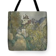 The House Of Dr Gachet In Auvers Sur Oise Tote Bag