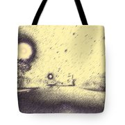 The House On The Corner Tote Bag