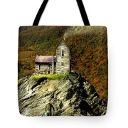 The House Time Forgot Color Tote Bag