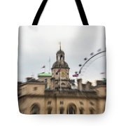 The Household Cavalry Museum London Abstract 2 Tote Bag