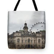 The Household Cavalry Museum Abstract London Abstract Tote Bag