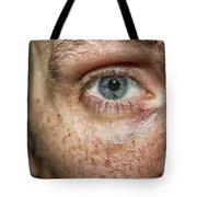 The Human Eye Tote Bag
