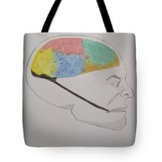 The Human Mind  Tote Bag