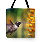 The Hummingbird And The Bee Tote Bag