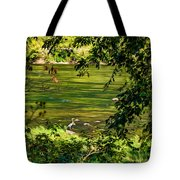 The Hunter - Paint Tote Bag