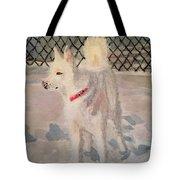 The Husky Tote Bag by Danielle Allard