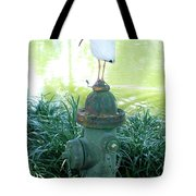 The Hydrant Bird Tote Bag
