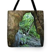 The Ice Cave Tote Bag