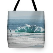 The Ice Elephant Of Silver Islet Tote Bag