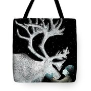 The Ice Garden Tote Bag by Eric Fan