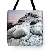 The Ice Queen Returns, North Tor Slieve Bearnagh Tote Bag