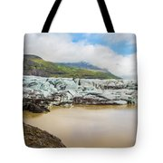 The Ice Wall Iceland Tote Bag