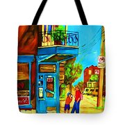 The Icecream Cone Tote Bag