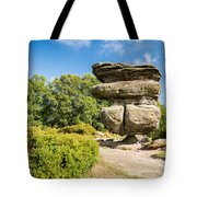 The Idol Rock In Perspective Tote Bag