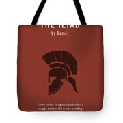The Iliad By Homer Greatest Books Ever Series 011 Tote Bag