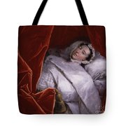 The Illness Of Actress Peg Woffington Tote Bag