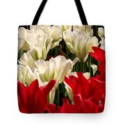 The Image Of A Tulip Tote Bag