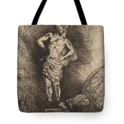 The Image Seen By Nebuchadnezzar Tote Bag