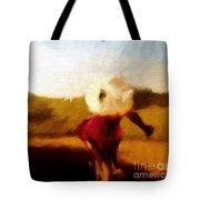 The Impressionist Iris Tote Bag