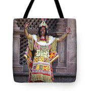 The Inca At Inti Raymi Tote Bag