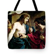 The Incredulity Of Saint Thomas Tote Bag