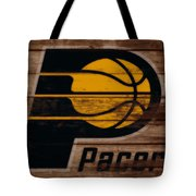 The Indiana Pacers 3b Tote Bag