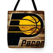 The Indiana Pacers 3c Tote Bag