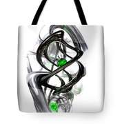 The Inkwell Abstract Tote Bag