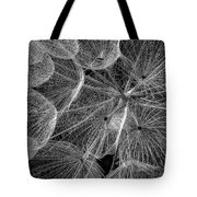 The Inner Weed 2 Monochrome Tote Bag