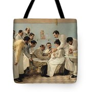 The Insertion Of A Tube Tote Bag by Georges Chicotot