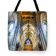 The Interior Of The Southwark Cathedral  Tote Bag
