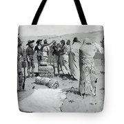 The Interpreter Waved At The Youth Tote Bag