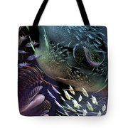 The Intricacy Of Existence Tote Bag