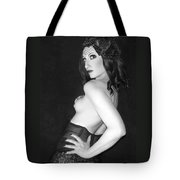 The Intrigue - Self Portrait Tote Bag