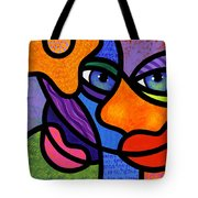 The Introduction Tote Bag by Steven Scott