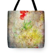 The Introverted Tulip Tote Bag