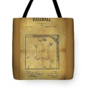 The Invention Of Baseball Tote Bag