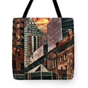 The Invisible Eye Tote Bag