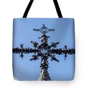 The Iron Cross Of Santa Cruz Tote Bag
