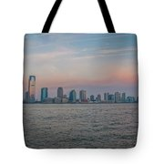 The Island Of Manhattan Tote Bag